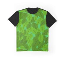 Green Leaves seamless Graphic T-Shirt