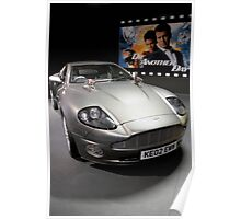 Aston Martin V12 Vanquish (Die another day) (2002) Poster