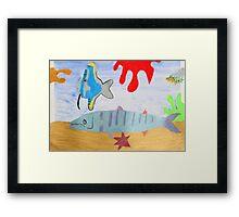 Children's art Framed Print