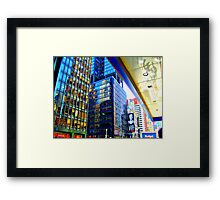 The Geometry Of NYC Framed Print