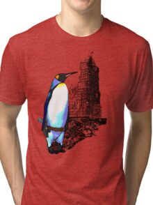 penguins win in the end Tri-blend T-Shirt
