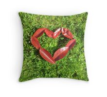 I be-leaf I love you (Portrait Version) Throw Pillow