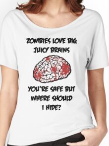 Juicy Brains Women's Relaxed Fit T-Shirt