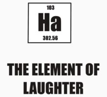 The Element of Laughter Kids Clothes