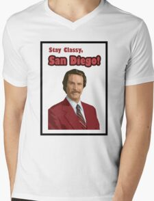 Stay Classy SD1 Mens V-Neck T-Shirt