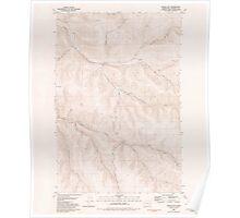 USGS Topo Map Washington State WA Gould City 241362 1981 24000 Poster