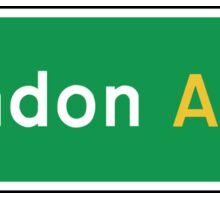 London, Road Sign, UK  Sticker