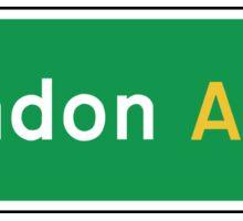 London, Road Sign, UK  Sticker