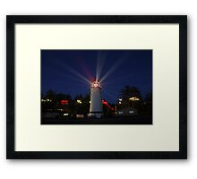 Umpqua Lighthouse Framed Print