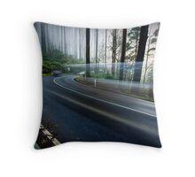 Moving through Time - Black Spur, Victoria, Australia Throw Pillow