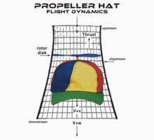 Propeller Hat Flight Dynamics Kids Tee