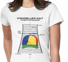 Propeller Hat Flight Dynamics Womens Fitted T-Shirt