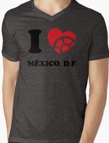 I Ride Mexico, DF Mens V-Neck T-Shirt