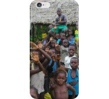 Lotumbe Children iPhone Case/Skin