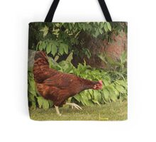 Red Rock Chicken Tote Bag