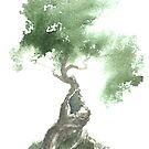 Little Zen Tree 676 by Sean Seal