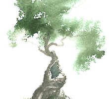 Little Zen Tree 676 by Sean Seal