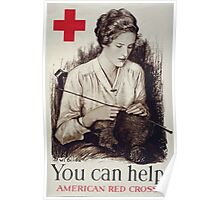 You can help American Red Cross 002 Poster