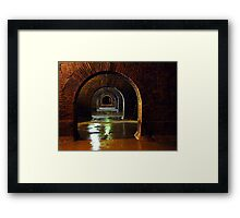2000 years ago ... Framed Print