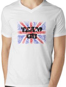 TEAM GB Mens V-Neck T-Shirt