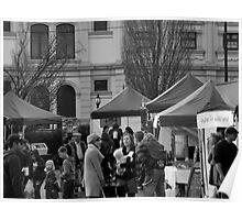 13/7 winter market Poster