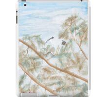 Ibis in a tree. iPad Case/Skin