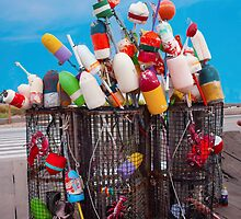 Buoys And Pots by phil decocco