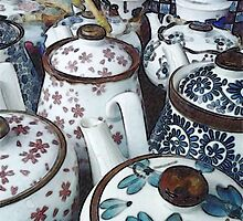 Market Teapots by SuzeM