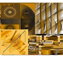 Energizing Collage Photographic Print