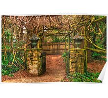 Secret Garden -  Mount Wilson, NSW Australia - The HDR Experience Poster