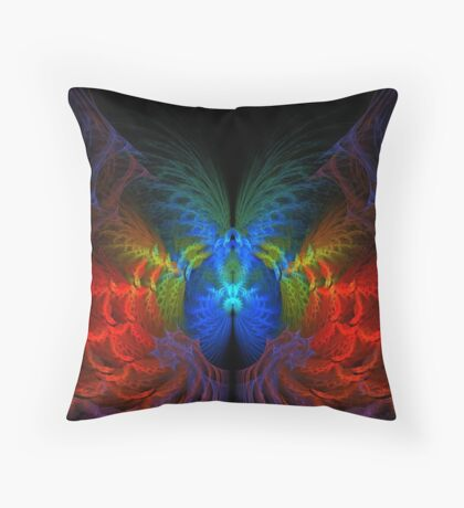 The Lost Tunnel Throw Pillow