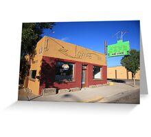 Route 66 - Uranium Cafe Greeting Card