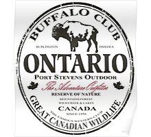 Ontario Buffalo Poster