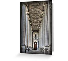 Pillars of STATE Greeting Card