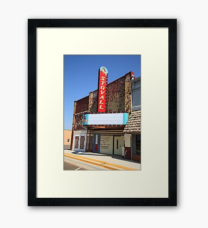 Route 66 - Stovall Theater Framed Print