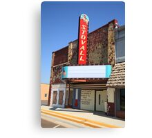 Route 66 - Stovall Theater Canvas Print