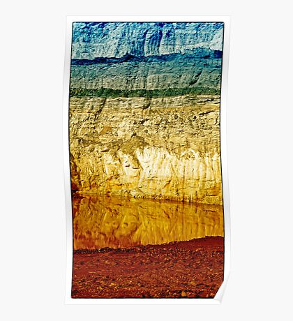 Rock Layers Poster