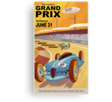 Mercury Travel Poster Canvas Print