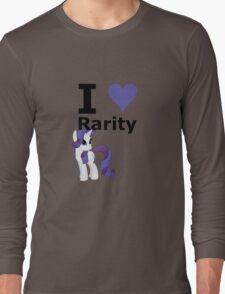 I Heart Rarity Long Sleeve T-Shirt