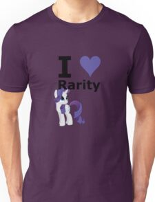 I Heart Rarity Unisex T-Shirt
