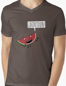 WATERMELON!!!! Mens V-Neck T-Shirt