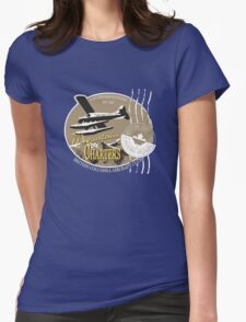 Canadian seaplane Womens Fitted T-Shirt