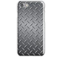 Gray Tonnes Metal Look Rewets Pattern iPhone Case/Skin