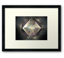 Diamond in the Mist  Framed Print