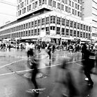 Elizabeth &amp; Flinders - Saturday afternoon - Melbourne by Megan Gardner