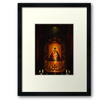 Our Lady Of Aglona Framed Print