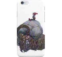 Jullbocken Yule Goat Scandinavian Christmas Tradition iPhone Case/Skin