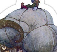 Jullbocken Yule Goat Scandinavian Christmas Tradition Sticker