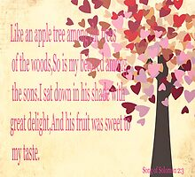 Song of Solomon 2:3 by Suzanne  Carter