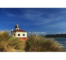 Bandon Coquille River Lighthouse Photographic Print